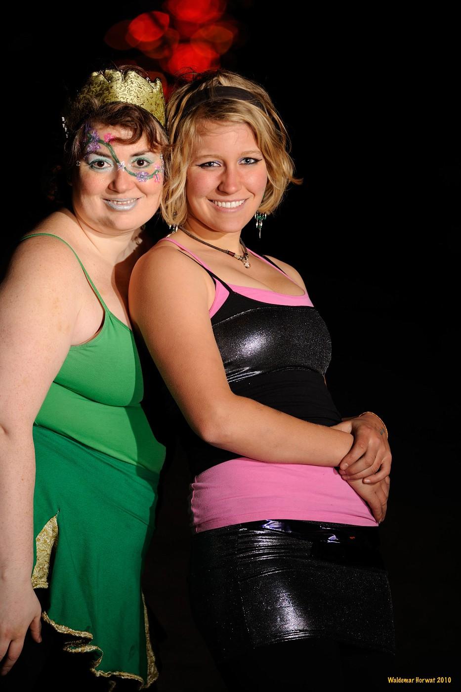 Isa and Alessandra