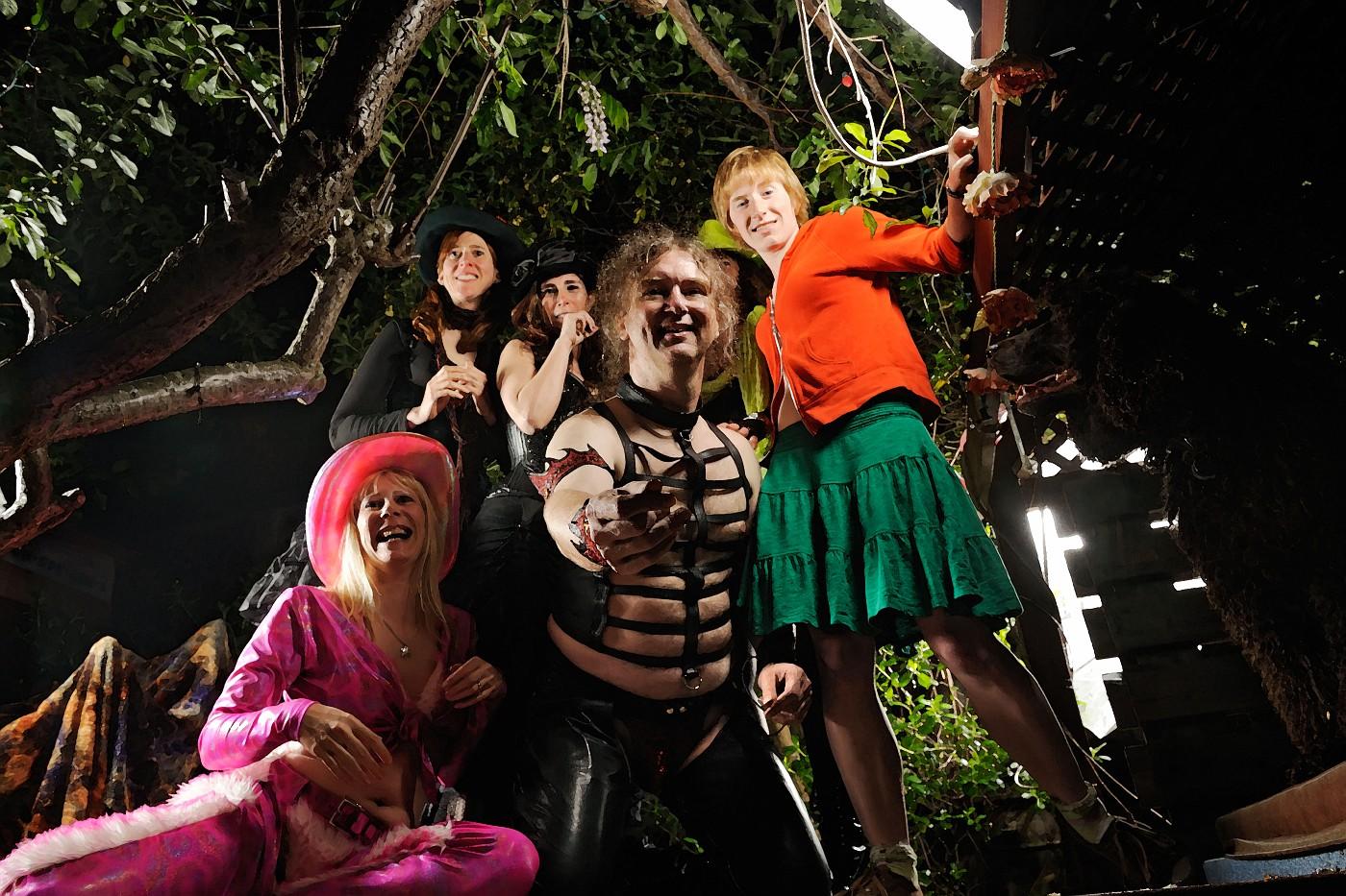 Glow Girl, Mary, Melanie, Waldemar, Y-Not, and Jennifer