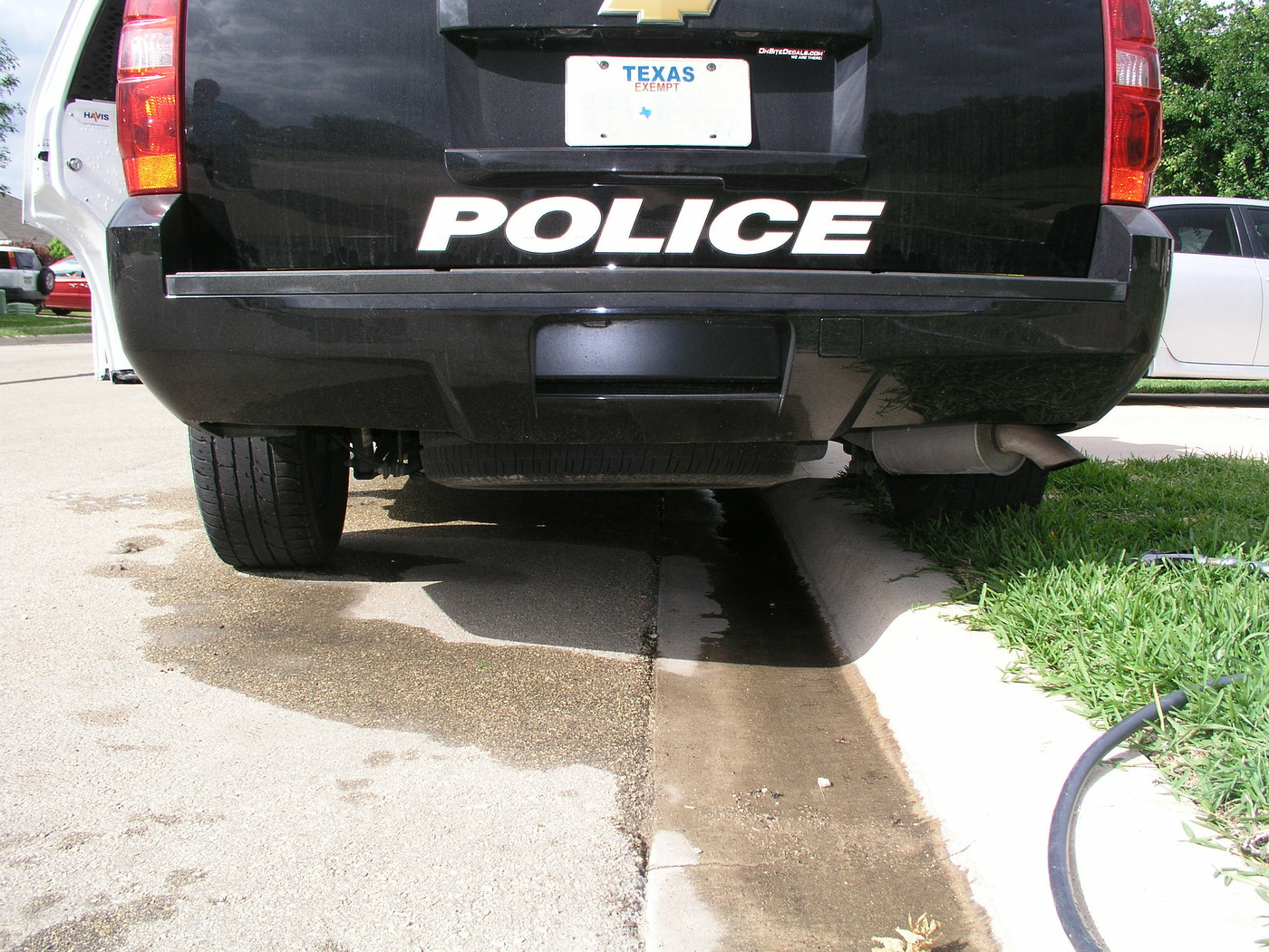 Chevy SUV Police K-9 Unit  BillAustinPic18 plate3digitsLeft4Rt