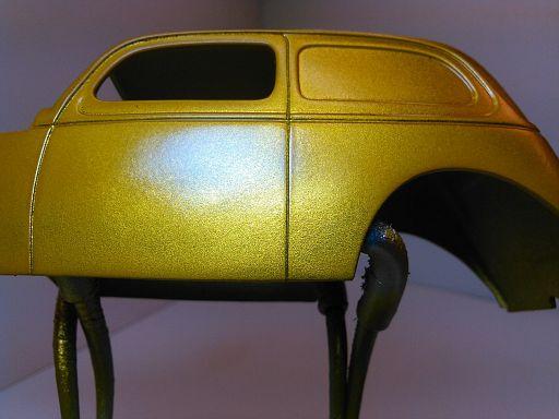WIP - 1938 Custom Ford Van 031