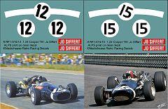 RF1-015/12 and RF1-015/15 Cooper Maserati T81 H16