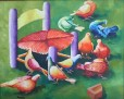 "Serenite  18"" x 24"" Huile sur canvas"