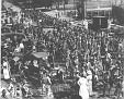 Marines à Philadelphia se préparant pour l' invasion (1915).