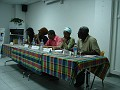 """Les panelistes:Alain jean,Alex Petro, Marie-Line Dahomey ,Manuel Reinette """" Assaliah"""", Akel Shillingford """" Recca"""