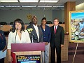 Sophia Lacroix, Mr Jacques Despinosse, Ms mariette St Vil, North Miami Mayor..