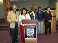 Mr Carl fombrun, Sophia Lacroix, Mr Jacques Despinosse, Ms Mariette St Vil, Mayor of North Miami.