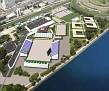 Nouvel Hippodrome Olympique de Hongkong où se tiendront les compétitions d'équitation.