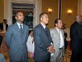 Francois Guillaume from HACOF,Consul  Alex Jospitre, Wilfrid Belfort.