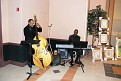 String Bassist Serge Dor and Pianist Roosevelt Fleurinord.