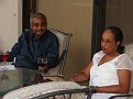 Dr and Mrs Ducarmel Augustin.