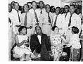 1958: Francois Duvalier et l'etat-major haitien:Antonio Th. Kebreau, Colonel Augustin, Franck Beauvoir, capitaine Andre Fareau. ....... Victor Nevers-Constant  etc.