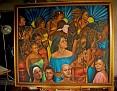 "Sang Mele - Oil on canvas 60""x72"""