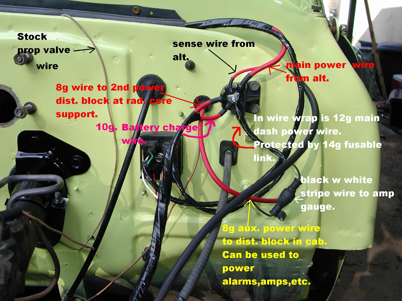 Alternator Wiring Question - The 1947