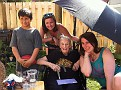 Chase, Erika, Gabby, and Nan