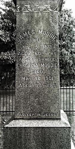James Moodie and Christina Moodie