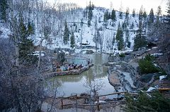 General view of Strawberry Park Hot Springs