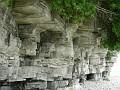 Dolomite cliffs