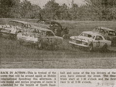 22-Bobby Foster OR Bud Nelson, 6-Robert Floyd, 99-Wayne Niedecken, 5-Cecil Jones, 71-Rufus Johnson mobile 3-2-69