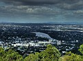 Mt Coot-tha lookout 016 View over Brisbane