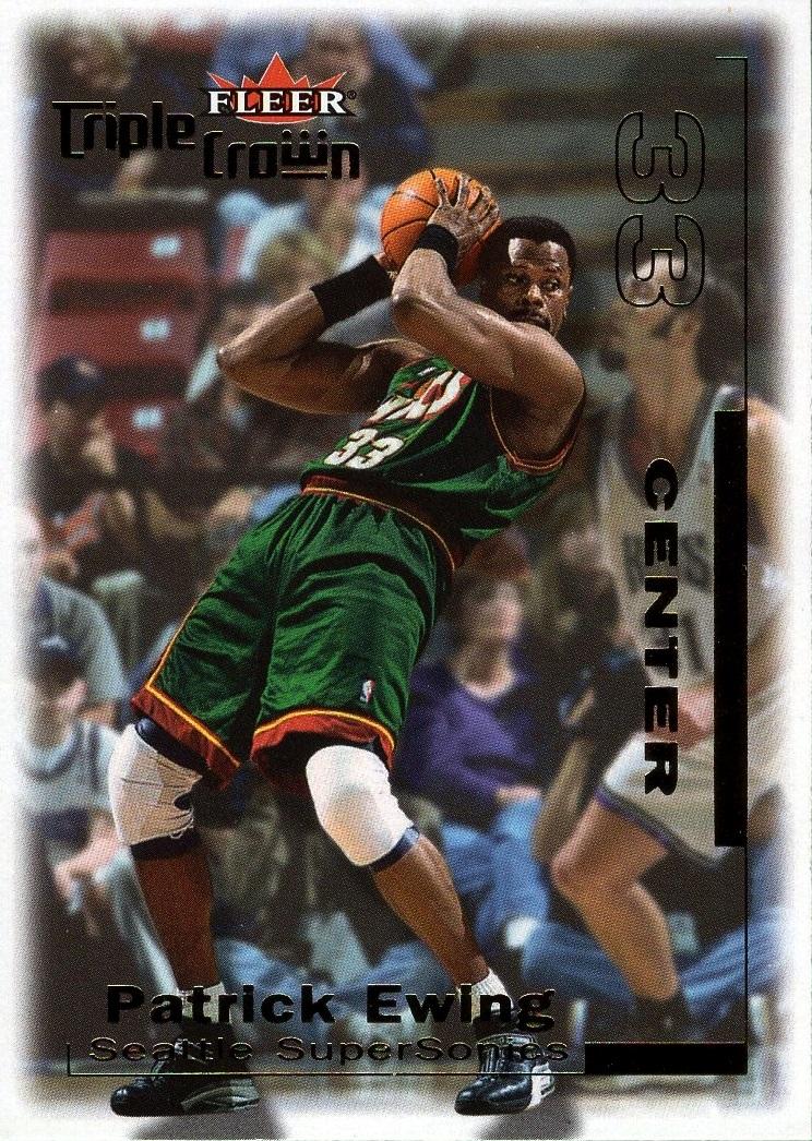 2000-01 Fleer Triple Crown #240 (1)