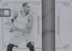 2009-10 National Treasures NBA Logoman Printing Plate Black #49 (1)
