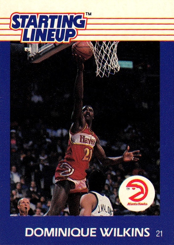 1988 Starting Lineup Dominique Wilkins (1)