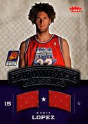 2008-09 Fleer Throwback Classics Robin Lopez (1)