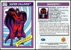 1990 Marvel Universe Toy Biz Magneto