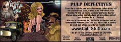 2012 Cult Stuff Pulp Detectives Promo #PD-P1