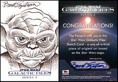 Galactic Files 2 Sketch Yoda
