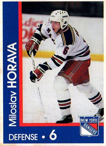 1989-90 Marine Midland New York Rangers #06 (1)