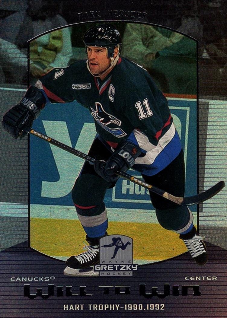 1999-00 Wayne Gretzky Hockey Will to Win #W10 (1)