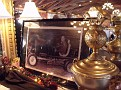My Uncle Sparky's trophys and photos on display at the luncheon honoring the new inductees into the NERA Hall of Fame.