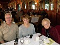 Ronnie and his wife Denise - and my Aunt Fannie - my dad's twin sister...she's 87 now...