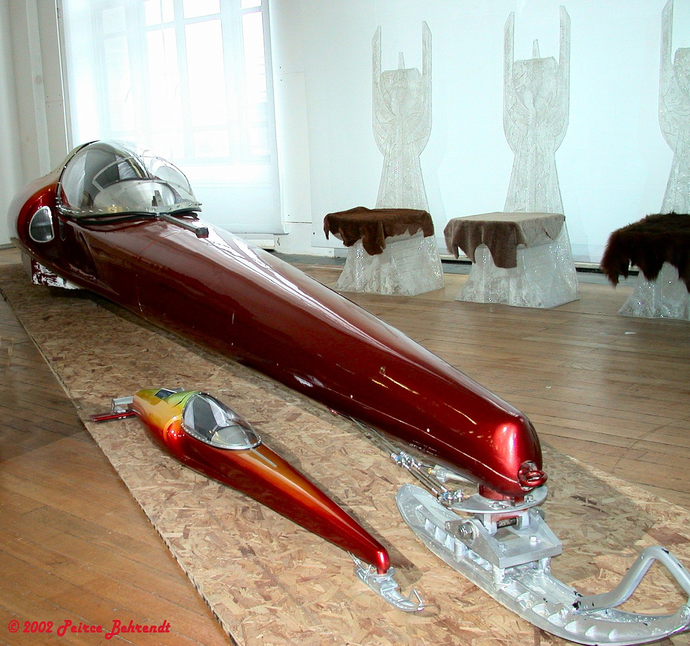 Photo: Jet Sled | Props and Models album | Peirce & Georg