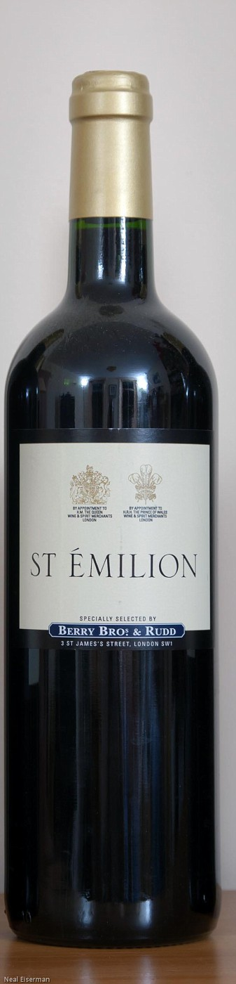 Berry Bros  & Rudd Berry's Own Selection St  Émilion Château Simard 2008