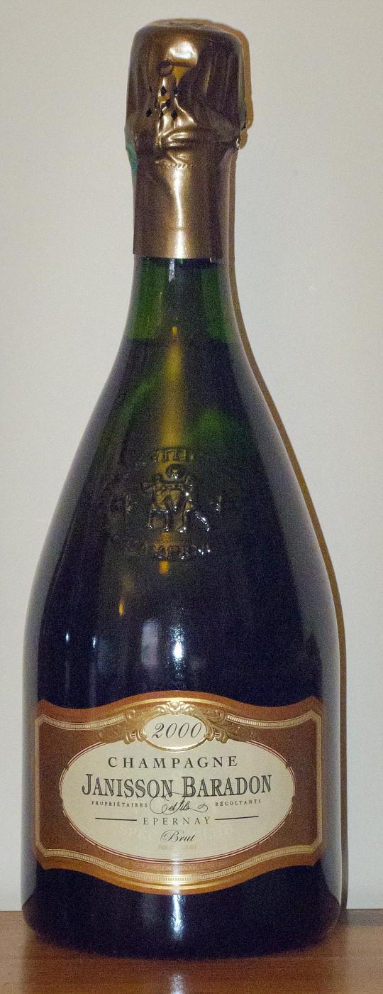 Janisson Baradon & Fils Champagne Le Toulettes Brut 2000