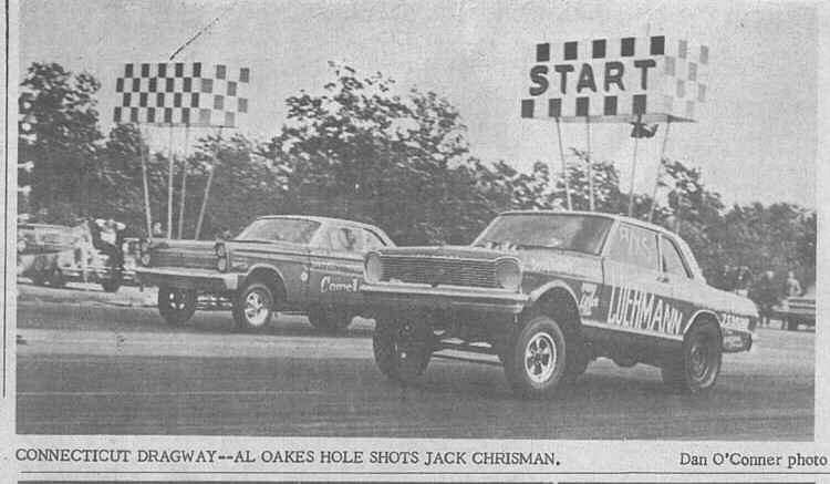 Al Oaks Chevy II vs Chrisman Connecticut 10-29-66 DN