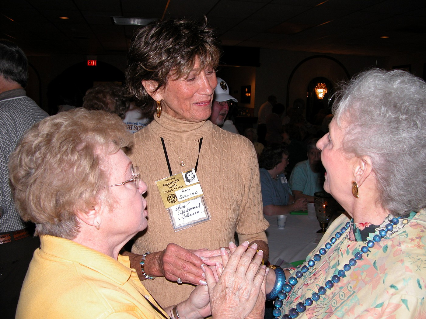 LaVerne Kammer, Ann Johnson, Connie Barron