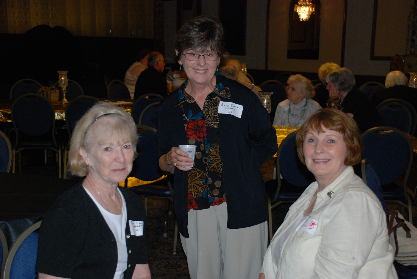 Joyce Ralston, Barb Sutton, Patti Lewis
