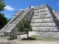Ruins of Chichen Itza, Yucatan Peninsula, Mexico   Pyramids, Mayan Ruins and Ancient City Plazas.