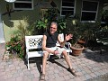 Greetings!!!  From Floyd's Hostel in Ft. Lauderdale, Florida