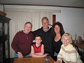 Eddie, Angelo, Me, Connie and Anita at Connie's house for Easter Saturday.