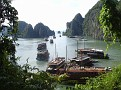 I will be sailing in Ha Long Bay.
