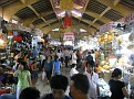 The Huge Ben Thanh Market in Saigon.