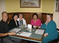 Dinner with Carol Schempp and friends, Mary, Marilyn and Ruth.