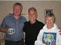 Myra, Bob and I at their home is Glasgow, Scotland 9-2006