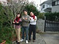 Chisako, Soji and Minato!!!  Great Pose!!!  '-)))