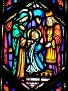COLLINSVILLE - ST PATRICK'S CHURCH - STAINED GLASS - 81