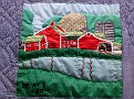 HARWINTON - HARWINTON LIBRARY - 250th ANNIVERSARY QUILT 06